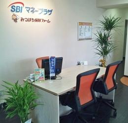 蕨市塚越:みつばち保険ファーム 蕨駅前店(SBIマネープラザ)