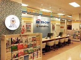 みつばち保険ファーム イトーヨーカドー新浦安店(SBIマネープラザ)のロゴ
